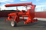 фото Машина для разгрузки зерна из полимерных мешков-рукавов